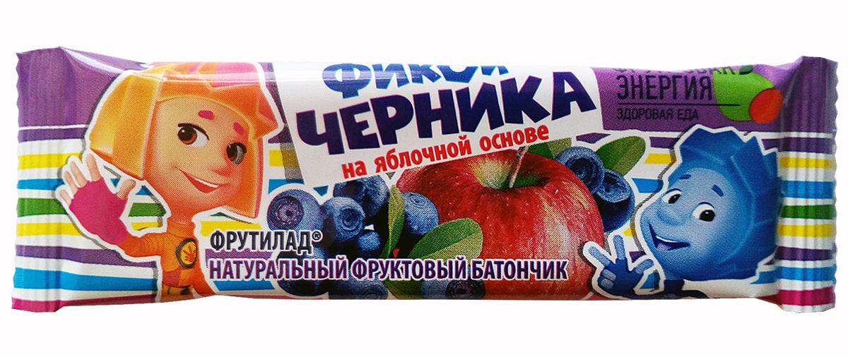 Фрутилад Батончик фруктовый фикси черника, 30 г фрутилад батончик фруктовый фрутилад чернослив в шоколаде 40 г