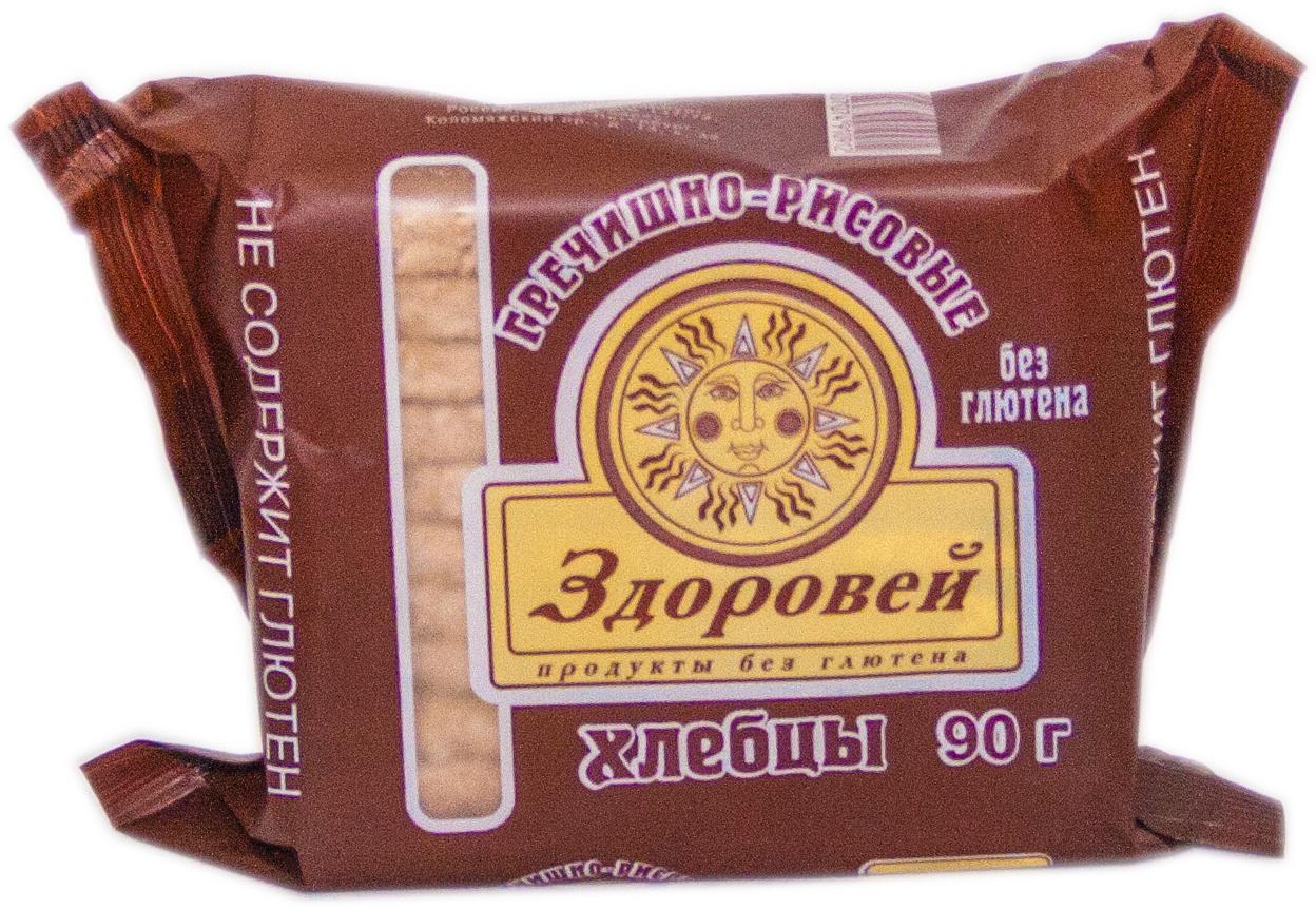 Здоровей хлебцы гречнево-рисовые, 90 г