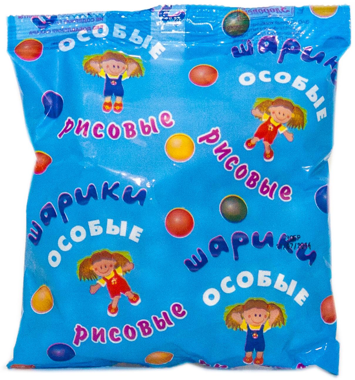 Здоровей шарики рисовые без сахара, 30 г Здоровей