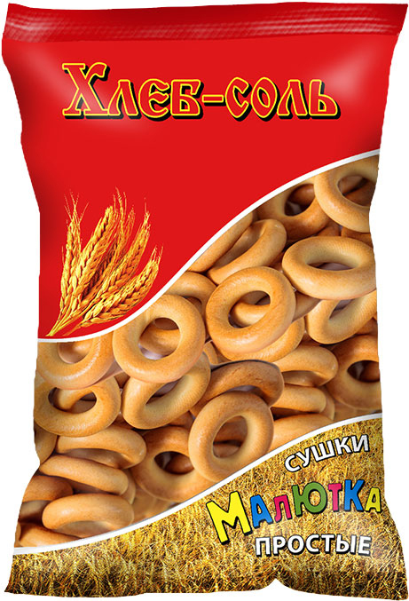 Хлеб-Соль Сушки малютка простые, 200 г хлеб