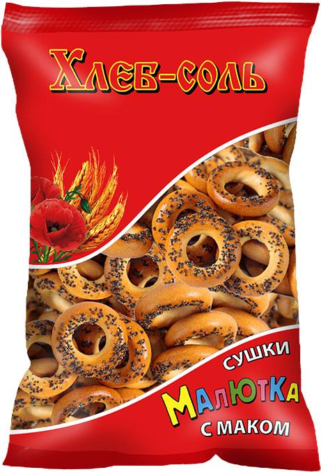Хлеб-Соль Сушки малютка с маком, 200 г пудовъ картофель сушеный хлопья 90 г