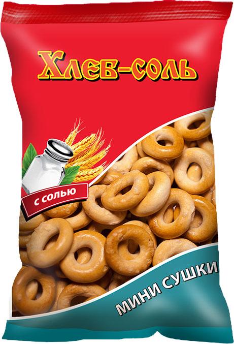 Хлеб-Соль Сушки малютка с солью, 200 г пудовъ картофель сушеный хлопья 90 г