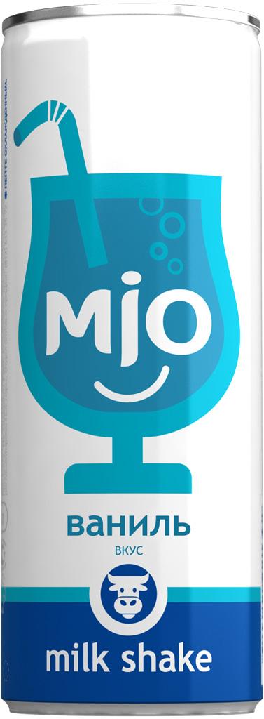 Mio Лимонадный молочный шейк Ваниль, 330 мл pediasure смесь со вкусом ванили с 12 месяцев 200 мл