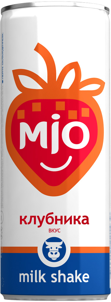 Mio Лимонадный молочный шейк Клубника, 330 мл pediasure смесь со вкусом ванили с 12 месяцев 200 мл