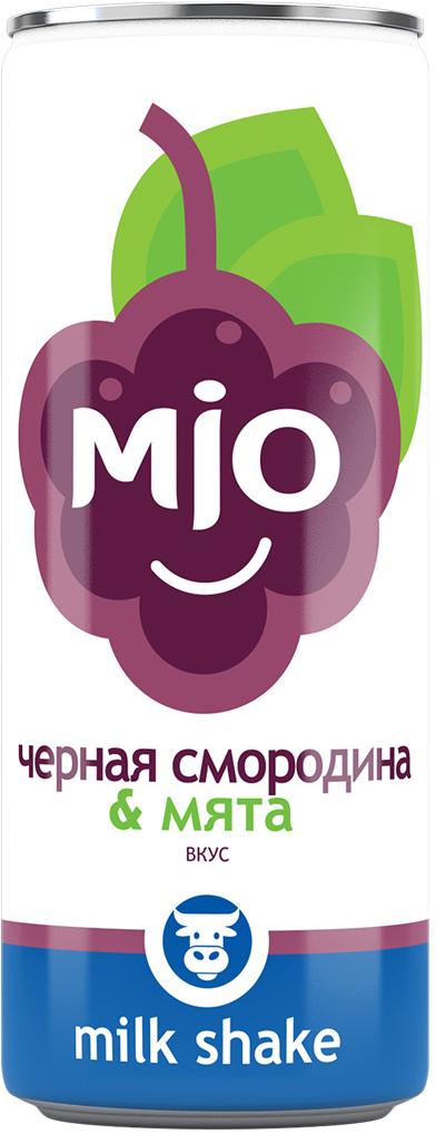 Mio Лимонадный молочный шейк Черная смородина, 330 мл pediasure смесь со вкусом ванили с 12 месяцев 200 мл