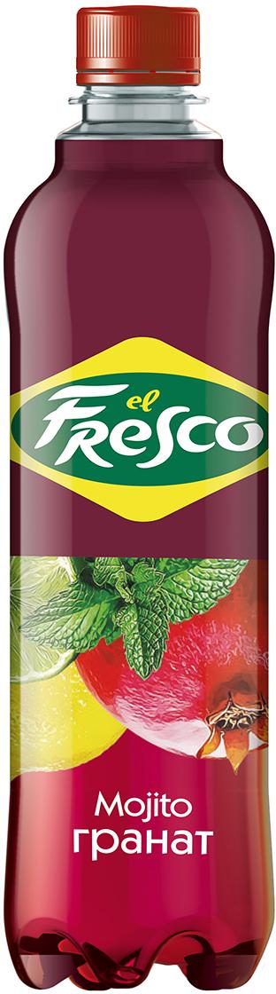 Elfresco Лимонад Мохито Гранатовый, 500 мл4610011221712Освежающий лимонад El Fresco - это идеальное сочетание сочной мяты, тонизирующего лайма и натурального сока фруктов . В миксах El Fresco тщательно подобраны ингредиенты и создана рецептура, в которой знакомые коктейли открываются новыми гранями и найдено изысканное равновесие полноты вкуса и аромата.