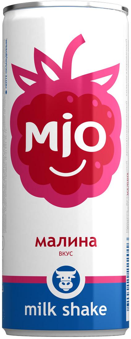 Mio Лимонадный молочный шейк Малина, 330 мл pediasure смесь со вкусом ванили с 12 месяцев 200 мл