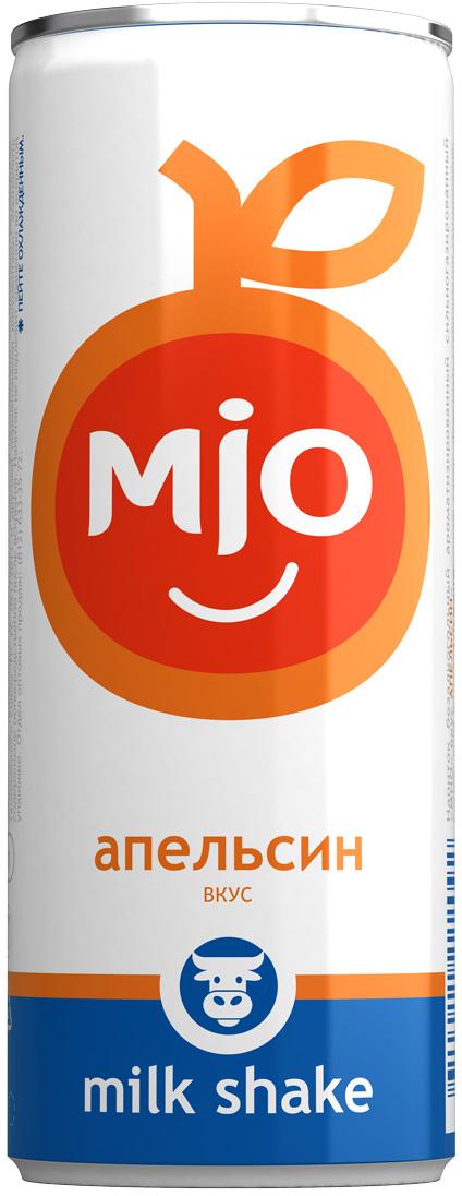 Mio Лимонадный молочный шейк Апельсин, 330 мл pediasure смесь со вкусом ванили с 12 месяцев 200 мл