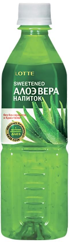 Lotte Aloe Vera напиток безалкогольный негазированный с мякотью алоэ оригинальный, 500 мл lotte aloe vera напиток безалкогольный негазированный с мякотью алоэ со вкусом вишни 240 мл