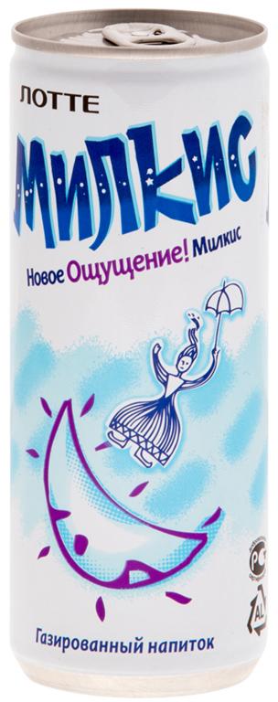 Lotte Milkis напиток газированный безалкогольный Оригинал, 250 мл lotte milkis напиток газированный безалкогольный со вкусом манго 250 мл