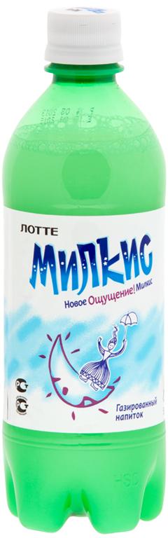 Lotte Milkis напиток газированный безалкогольный Оригинал, 500 мл lotte milkis напиток газированный безалкогольный со вкусом манго 250 мл