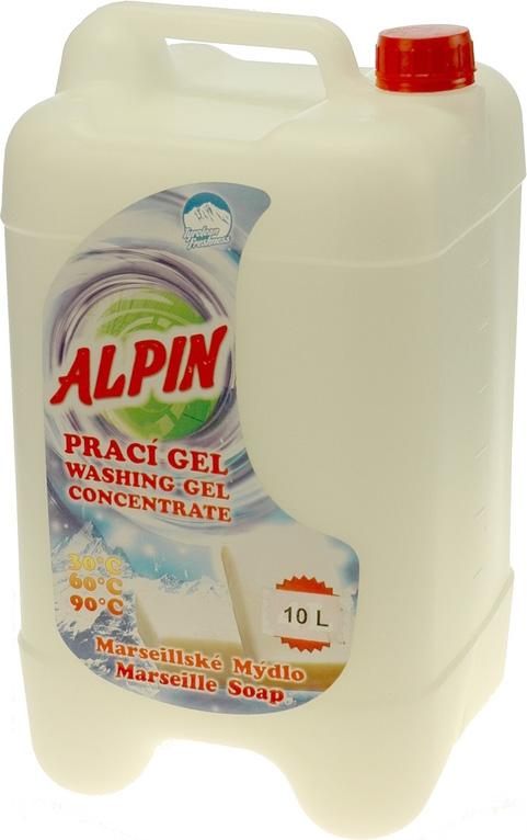 Жидкое средство для стирки Alpin Марсельское мыло, концентрат, 10 л