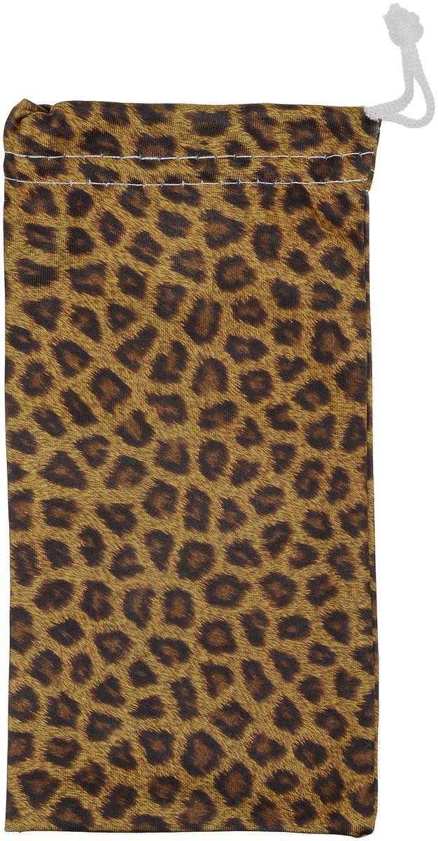 Proffi Home Чехол для очков, цвет: желтый, коричневый, темно-коричневый proffi home очки корригирующие для чтения 322 fabia monti 3 00 цвет прозрачный дужки черные