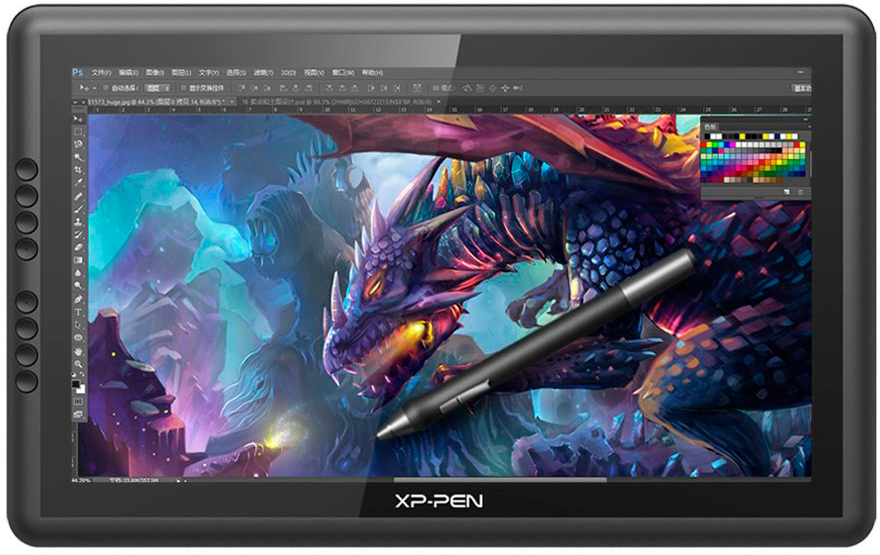 Xp-Pen Artist16, Black графический планшет-монитор