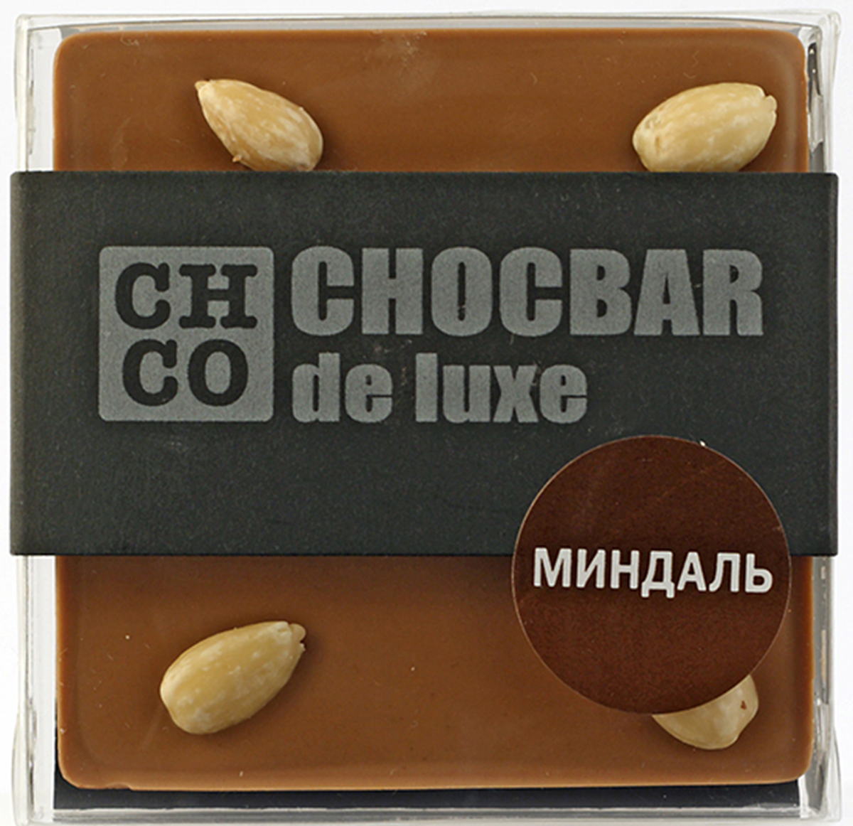Chco Chocbar De Luxe Milk Миндаль молочный шоколад, 85 г chco chocbar milk 40% молочный шоколад 60 г