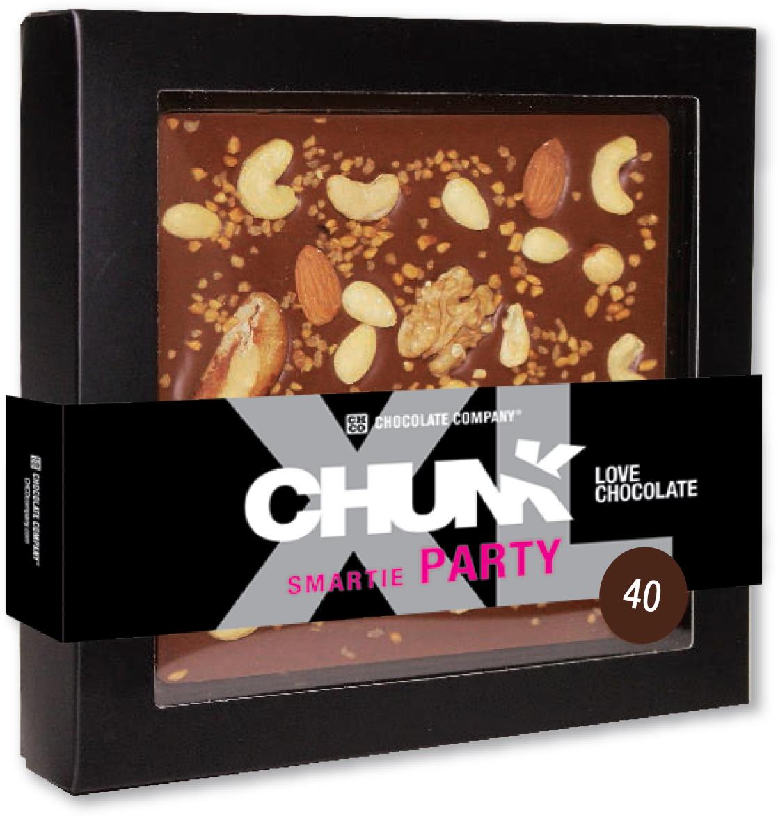 Chco Chocbar XL De Luxe Milk 40% орехи молочный шоколад, 300 г kinder mix носорог подарочный набор с игрушкой 137 5 г