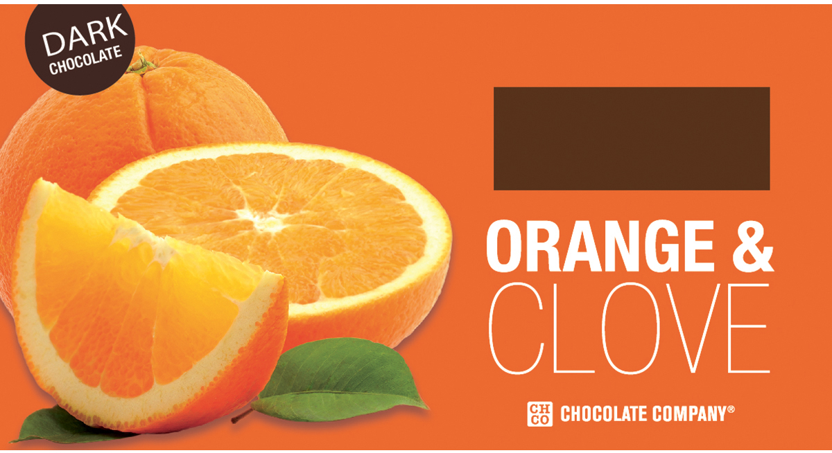 Chco Два вкуса апельсин - гвоздика горький шоколад, 100 г ростагроэкспорт желе апельсин 125 г
