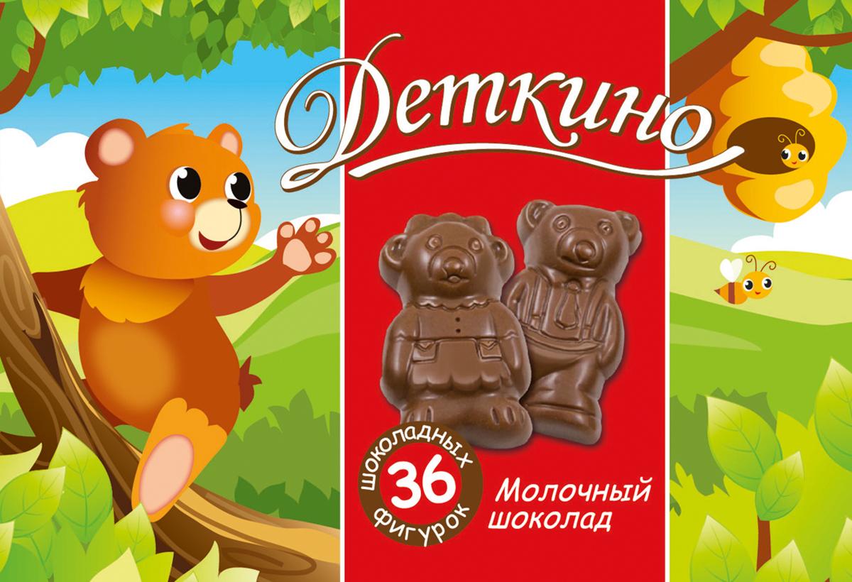 Деткино шоколадные фигурки из молочного шоколада, 135 г деткино шоколадные фигурки из молочного шоколада 135 г
