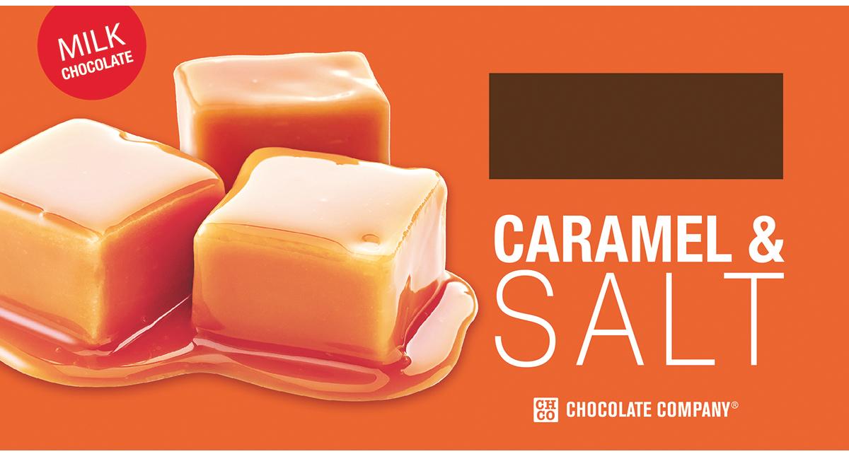 Chco Два вкуса карамель - соль молочный шоколад, 100 г chco chocbar milk 40% молочный шоколад 60 г