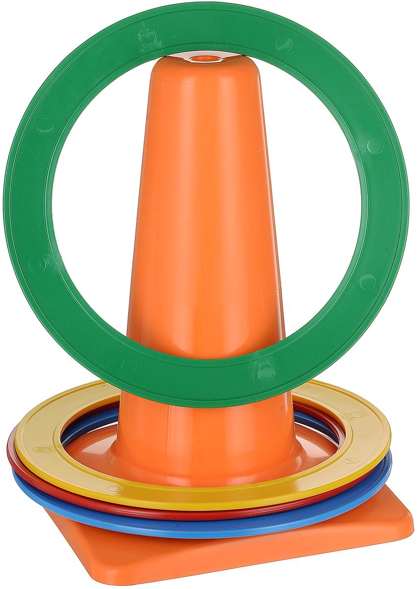 Аэлита Игровой набор Бросайка цвет оранжевый