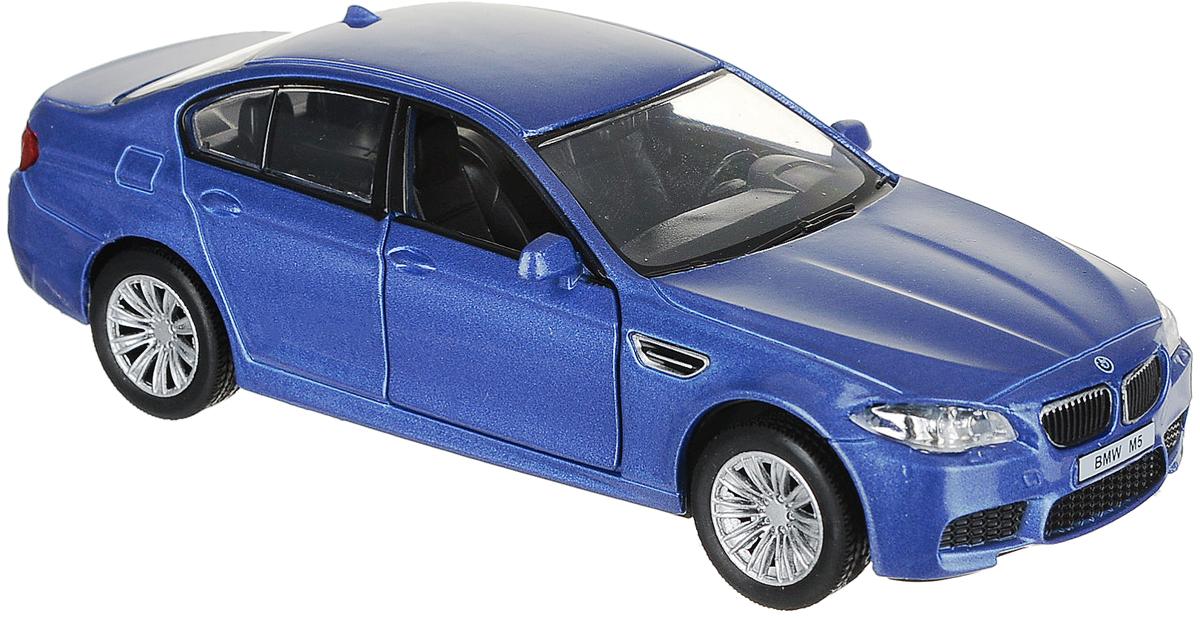 Autotime Модель автомобиля BMW M5 цвет синий 34163 autotime collection 11446 уаз 31514 вдв