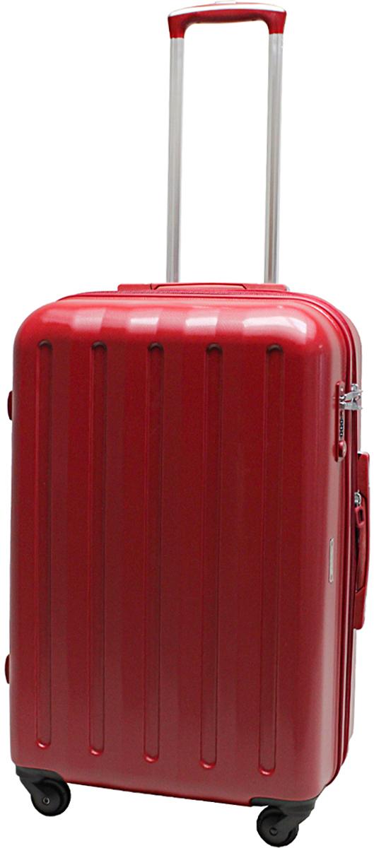 Чемодан на колесах Echolac 008, цвет: красный, 62 л. 008-24PC008-24PCЧемодан Echolac, коллекция LIGHT.- Компактный и легкий. Служит незаменимым спутником для деловых поездок и кратковременных путешествий. - Произведен из поликарбоната, что является гарантом прочности, надёжности и долговечности. - 4 колеса японского производителя HINOMOTO, вращающиеся на 360гр, придают маневренности и распределяют нагрузку равномерно. А также избавят вашу руку от излишней нагрузки.- Функциональный: имеет вместительное отделение с прижимными ремнями и перегородкой с дополнительными карманами.- Надежный: встроенный кодовый замок с функцией TSA. Вы закрываете замок на кодовую комбинацию, а при необходимости досмотра таможенные службы смогут открыть его универсальным ключом, не сбивая ваш код и не повреждая чемодан. В настоящее время универсальные ключи от замков TSA есть только у таможенных служб США, Канады, Великобритании и Израиля. Ключ в комплект чемодана не входит!- Расширение объема 3см.Материал: поликарбонат.Вес: 3,9кг.Объем 68л. Гарантийный срок - 5 лет.
