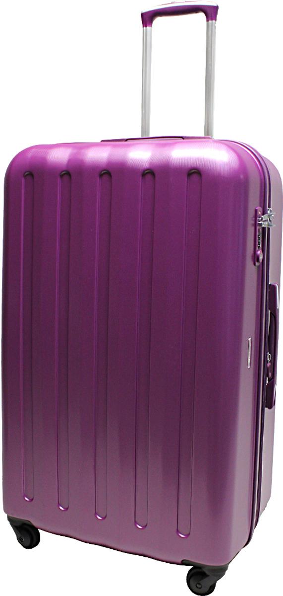 Чемодан-тележка Echolac 008, на колесах, цвет: фиолетовый, 113 л. 008-28PC