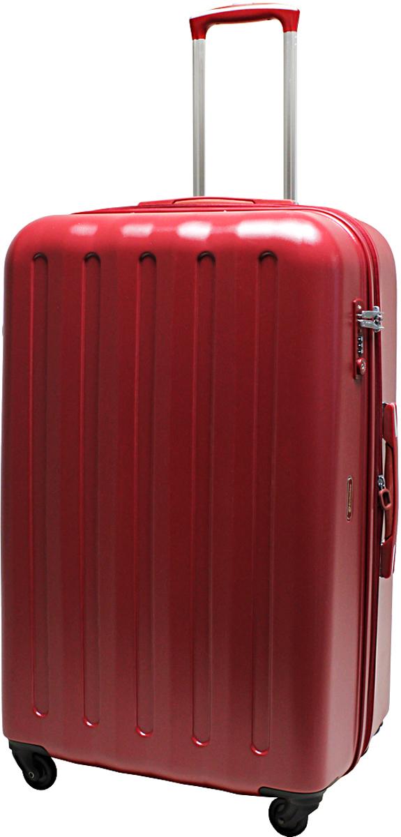 Чемодан-тележка Echolac 008, на колесах, цвет: красный, 113 л. 008-28PC008-28PCЧемодан Echolac, коллекция LIGHT. Компактный и легкий. Служит незаменимым спутником для деловых поездок и кратковременных путешествий.Произведен из поликарбоната, что является гарантом прочности, надёжности и долговечности.Четыре колеса японского производителя HINOMOTO, вращающиеся на 360 градусов, придают маневренность и распределяют нагрузку равномерно. А также избавят вашу руку от излишней нагрузки. Функциональный: имеет вместительное отделение с прижимными ремнями и перегородкой с дополнительными карманами.Надежный: встроенный кодовый замок с функцией TSA. Вы закрываете замок на кодовую комбинацию, а при необходимости досмотра таможенные службы смогут открыть его универсальным ключом, не сбивая ваш код и не повреждая чемодан. Ключ в комплект чемодана не входит.Вес: 4,5 кг; объем: 113 л.Размер: 76 х 47 х 33 см.Гарантия - 5 лет.