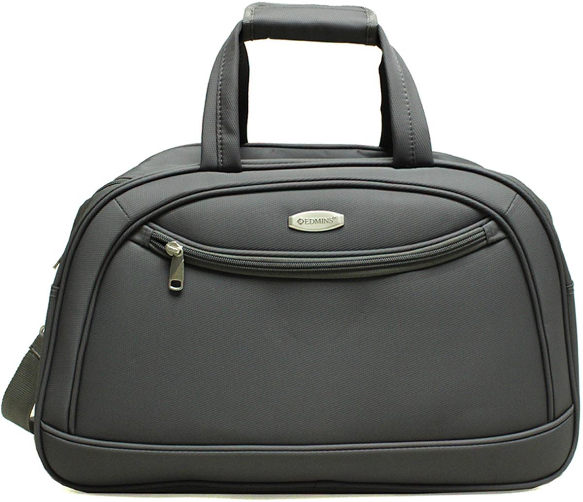 Сумка дорожная Edmins, цвет: серый, 30 л. 213 НF 420*3-1213 НF 420*3-1Сумка дорожная Edmins выполнена из легкой, очень прочной ткани, которая великолепно сохраняет форму и проста в уходе. Данная модель удобна и практична: имеет широкий плечевой ремень, 2 ручки-переноски, умный карман, который позволяет одевать сумку на ручку чемодана, освобождая Ваши руки, а также жеское дно, которое можно поднять, для компактного хранения сумки. Внутри имеется дополнительный карман на молнии. На внешней стороне находится вместительный карман на молнии, который позволяет все самое необходимое хранить под рукой. Максимальная нагрузка: 7кг. Внешние размеры: 51*20*33 см. Вес 1кг. Объем 33,5 л. Гарантия 2 года.