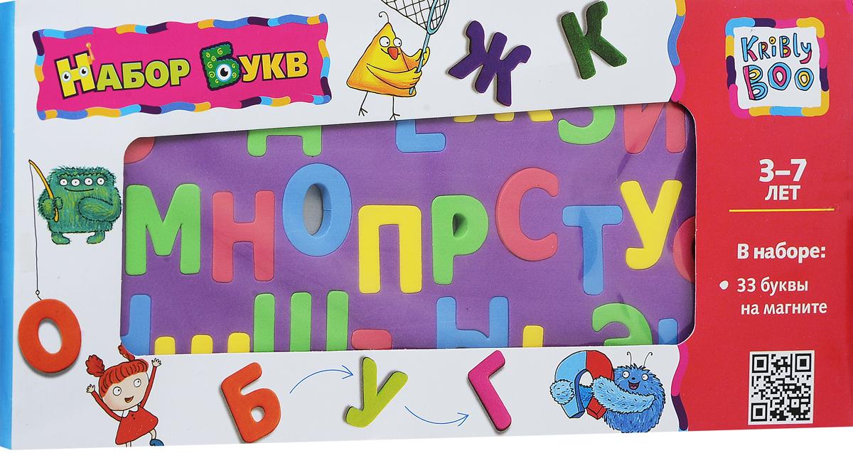 Kribly BooОбучающая игра Магнитный набор букв цвет фона фиолетовый Kribly Boo