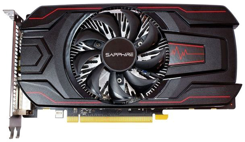 Sapphire Pulse Radeon RX 560 4GB видеокарта sapphire r9 370 gpu cooler video cards fan for radeon sapphire r9 370 1024sp 4g 2g v2 oc graphics card cooling