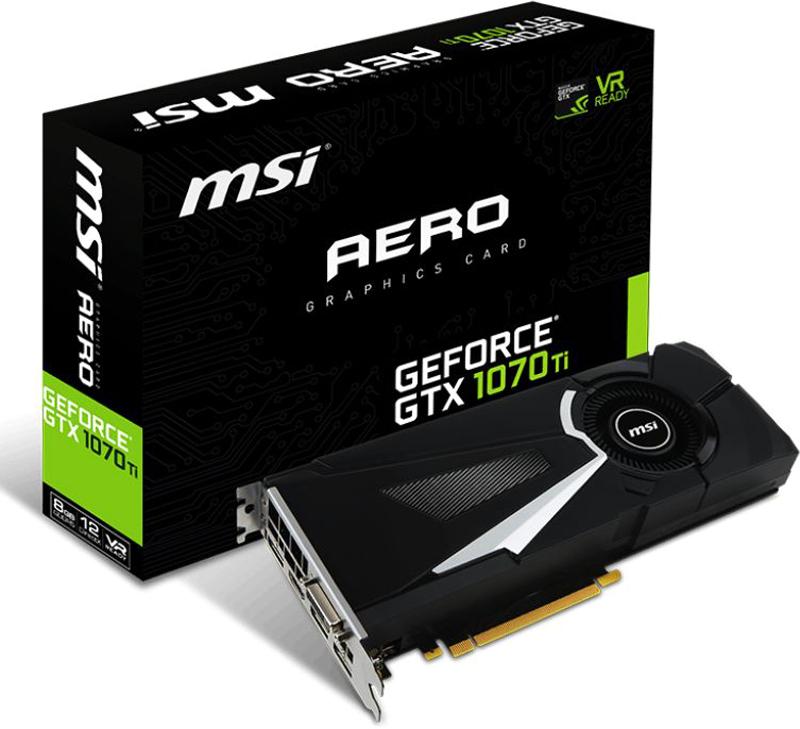 MSI GeForce GTX 1070 Ti Aero 8GB видеокарта