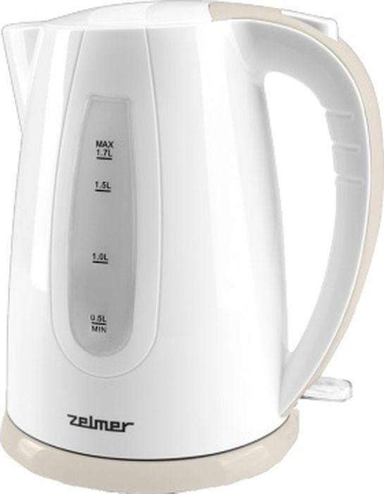 Zelmer ZCK0274I/CKE820, Ivory чайник электрический zelmer zck0274i cke820 ivory чайник электрический