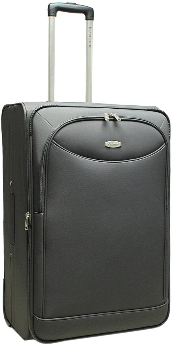 Чемодан-тележка Edmins, на колесах, цвет: серый, 100 л. 213 НМ 760*3-1
