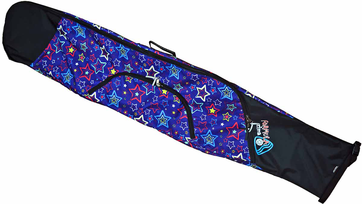 Чехол для сноуборда Variant. Звезды, 150-180 см52007-1Качественный чехол для сноуборда и ботинок с удобным дополнительным карманом и регулируемыми лямками для переноса. Длина чехла регулируется от 150 до 180 см, таким образом этот чехол позволяет переносить сноуборды разной длины.