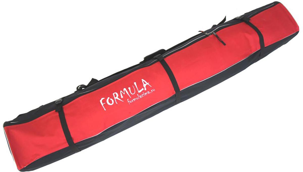 Чехол для горных лыж Voyage-1, цвет: красный, 170 см51011Надежный горнолыжный чехол без излишеств. Идеальное соотношение цены и качества. Горнолыжный чехол «Вояж 1» изготовлен из современных, прочных синтетических материалов, не боящихся влаги, по периметру чехол имеет зашитый между стенок мягкий наполнитель, который убережет горные лыжи от механических повреждений.Большая молния №10 выдерживает нагрузки и, при необходимости, вы можете набить чехол не только лыжами, но и сопутствующими вещами, а три боковые стяжки помогут это все надежней зафиксировать и ужать до минимума объем.Боковая ручка с пластиковой насадкой под руку и плечевая лямка с удобным наплечником максимально облегчит переноску. Торцы горнолыжного чехла усилены прочной ПВХ-тканью и имеют по одному отверстию усиленному металлическим люверсом для отвода скопившейся влаги от случайно попавшего внутрь снега.