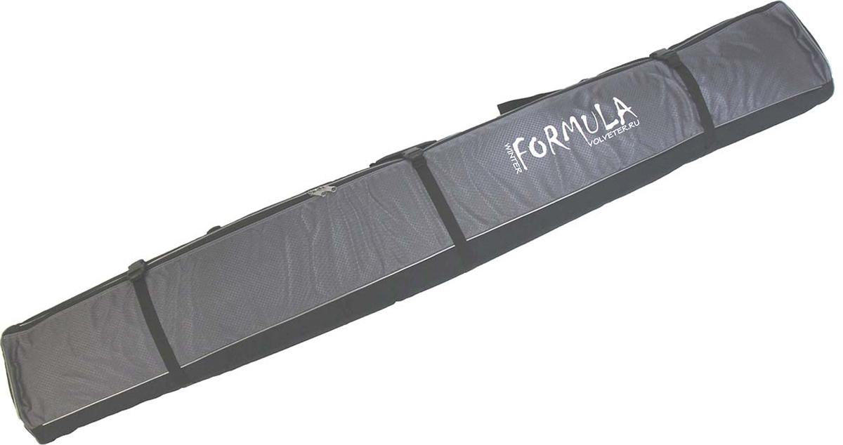 Чехол для горных лыж Voyage-1, цвет: серый, 170 см51011Надежный горнолыжный чехол без излишеств. Идеальное соотношение цены и качества. Горнолыжный чехол «Вояж 1» изготовлен из современных, прочных синтетических материалов, не боящихся влаги, по периметру чехол имеет зашитый между стенок мягкий наполнитель, который убережет горные лыжи от механических повреждений.Большая молния №10 выдерживает нагрузки и, при необходимости, вы можете набить чехол не только лыжами, но и сопутствующими вещами, а три боковые стяжки помогут это все надежней зафиксировать и ужать до минимума объем.Боковая ручка с пластиковой насадкой под руку и плечевая лямка с удобным наплечником максимально облегчит переноску. Торцы горнолыжного чехла усилены прочной ПВХ-тканью и имеют по одному отверстию усиленному металлическим люверсом для отвода скопившейся влаги от случайно попавшего внутрь снега.