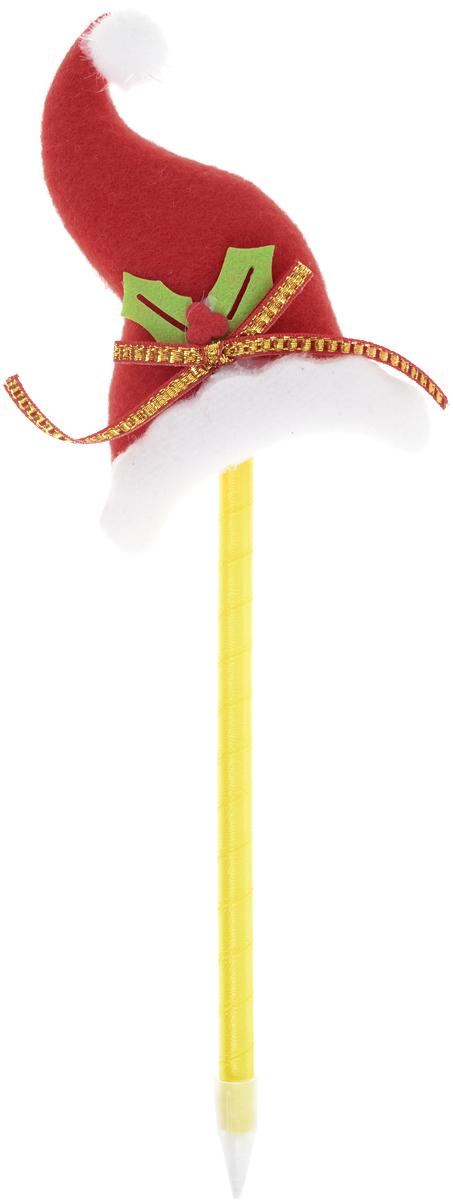 Страна Карнавалия Ручка Колпачок цвет корпуса желтый синяя1373623-желтый, колпак красныйШариковая ручка Страна Карнавалия Колпачок с тематическим принтомстанетотличным презентом в новогодние праздники! Для взрослых это будеторигинальное украшение рабочего стола и приятное напоминание о человеке,который преподнёс такой сувенир. А маленьких деток привлечёт красочный дизайн - за уроки они будут браться сэнтузиазмом. Наконечник в форме новогоднего колпачка подарит улыбки иморе позитива - такой зимний атрибут просто не захочется выпускать из рук!