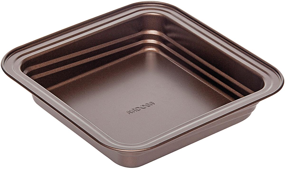 Форма для выпечки Nadoba Liba, с антипригарным покрытием, 24 х 24 х 5 см761113Форма для выпечки Nadoba Liba квадратная, стальная, антипригарная, 24 х 24 х 5 см.