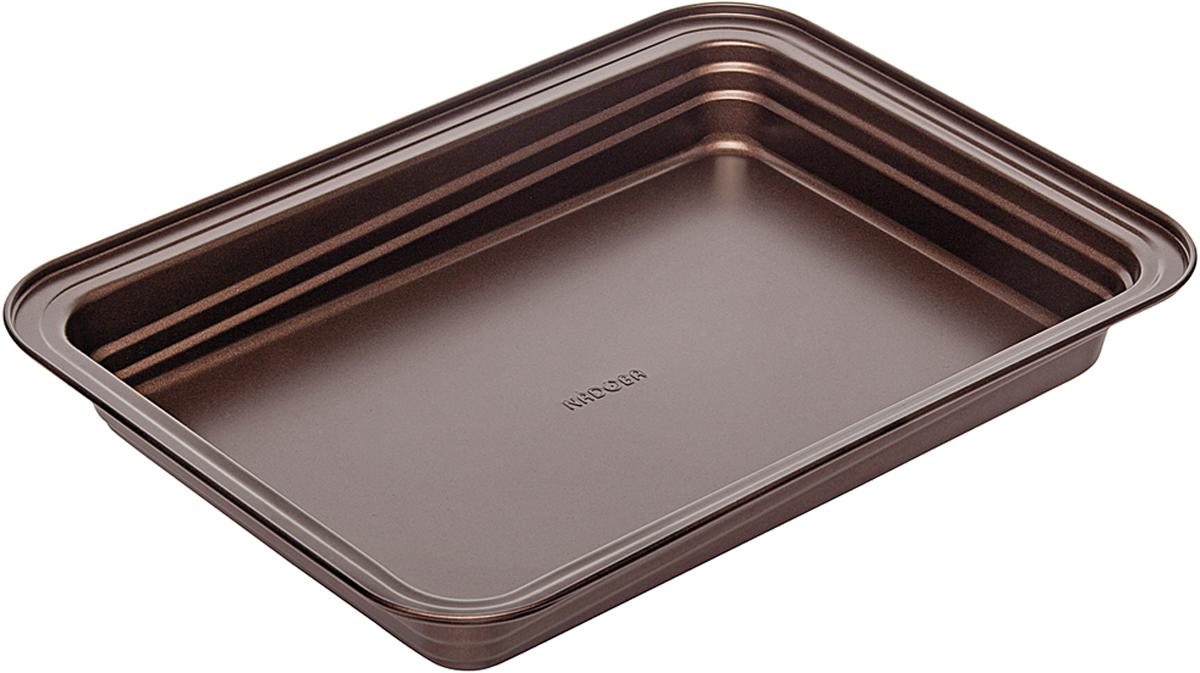 Форма для выпечки Nadoba Liba, с антипригарным покрытием, 37 х 27 х 5 см форма для выпечки nadoba liba с антипригарным покрытием 37 х 27 х 5 см