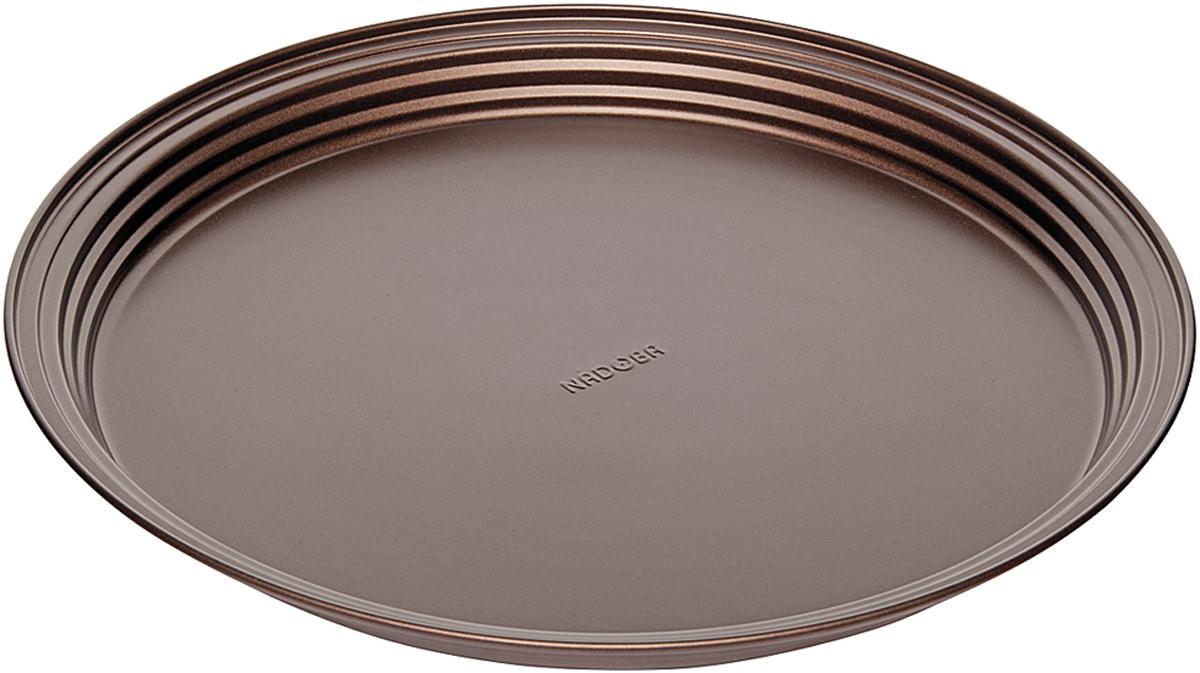 Форма для выпечки Nadoba Liba, с антипригарным покрытием, диаметр 34 см761118Форма круглая Nadoba Liba для пирога/пиццы, стальная, антипригарная, 34 х 2,8 см.