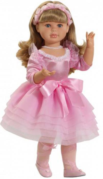 Paola Reina Кукла Балерина 60 см бусы из тигрового глаза и хрусталя арабель