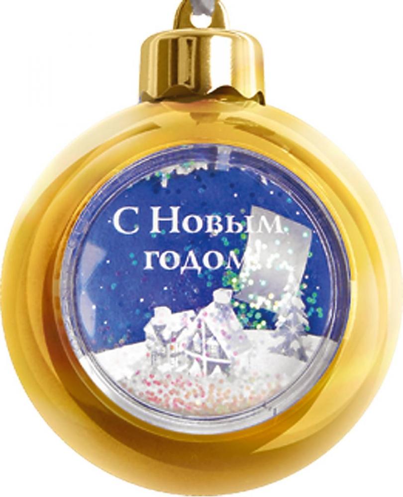 """Если хочется сделать оригинальный и недорогой  новогодний подарок, подвесное украшение с рамкой  """"Mister Christmas"""" может стать отличным решением.  Изделие выполнено из прочного пластика, благодаря  чему игрушка при случайном падении не треснет и не  разобьется.  В шаре имеется съемное окошко, украшенное  блестками, в которое можно вставить фотографию,  открытку или просто красивую картинку. В то же время  это елочное украшение может послужить оригинальной  подарочной упаковкой. Его можно открыть и положить,  например, маленький сладкий презент или золотое  колечко. Оригинальное украшение """"Mister Christmas"""" может стать  удачной возможностью выразить свою симпатию  друзьям, знакомым и коллегам в Новый год."""