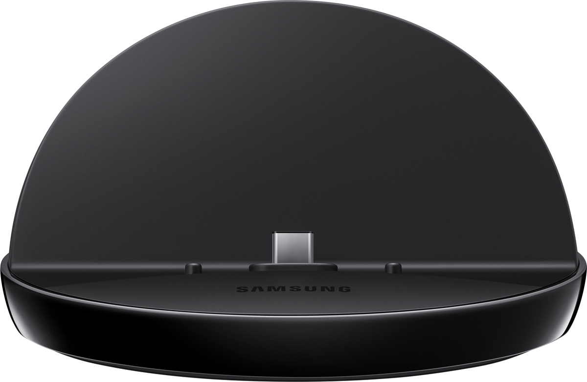 Samsung EE-D3000, Black док-станцияSAM-EE-D3000BBRGRUДок-станция в виде подставки для зарядки мобильных устройств Samsung c USB Type-C разъёмом (расположенным в центре нижней части устройства) и диагональю дисплея до 10, поддержка быстрой зарядки (зависит от подключенного СЗУ). Сетевое зарядное устройство в комплект не входит