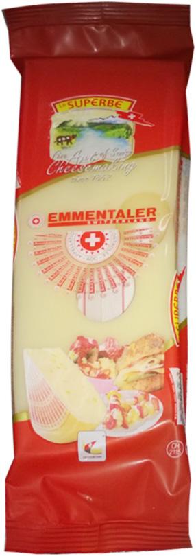 Le Superb Сыр Эмменталлер, 195 гМС-00003327Сыр, как поэма, ароматный и пряный. Подлинный швейцарский Эмментальценится во всем мире. Сильный вкус, мягкая консистенция, цвет слоновойкости или светло-желтый и наличие крупных дырок делают этот сырнеповторимым. Твердый сыр, период созревания