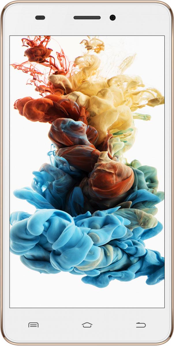 Irbis SP56, GoldSP56gУдобный, функциональный смартфон Irbis SP56 c четырехъядерным процессором на базе операционной системы Android позволит всегда оставаться на связи.С помощью тыловой камеры 8 Мпикс можно делать фотографии приемлемого качества. Фронтальная камера 2 Мпикс предназначена для видеосвязи и селфи.Данная модель может воспроизводить практически любые существующие цифровые форматы фото, видео и музыки. А хранить их очень удобно на карте памяти microSD объемом до 32 ГБ.В качестве телефона модель работает одновременно с двумя сим-картами. Поддерживаются 4G (LTE) и 3G сети. Есть модуль Bluetooth для быстрого обмена данными с другими смартфонами в пределах 10 метров и подключение к беспроводной Wi-Fi сети.Телефон сертифицирован EAC и имеет русифицированный интерфейс меню и Руководство пользователя.