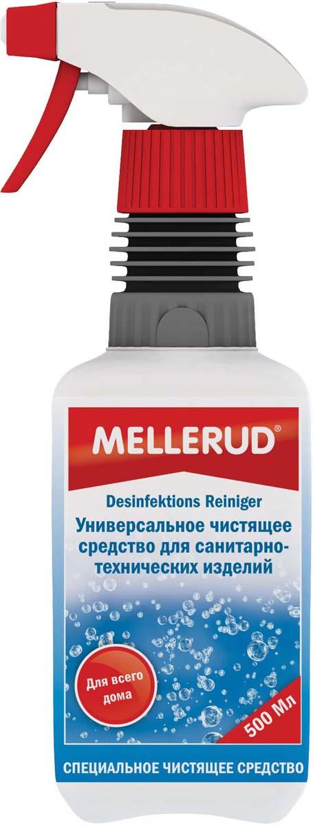 Очиститель дезинфицирующий Mellerud, 500 мл302Очиститель дезинфицирующий Mellerud - устраняет бактерии, грибки, вирусы и болезнетворные микробы во всем доме. Чистит и дезинфицирует все поверхности, подверженные скоплению бактерий - на кухне, ванной и туалете. Предназначено для чистки столешниц, холодильников, мусорных ведер, разделочных досок, душевых перегородок, дверных ручек. Подходит также для плитки, полов, кошачьих туалетов, клеток для животных, ночных горшков, цветочных ваз и т.д. Устраняет неприятный запах из канализации.Применение. Распрыскать по поверхности на расстоянии 10 см и растереть тряпкой или губкой. Оставить на 10 минут. После этого тщательно смыть чистой водой или протереть влажной тряпкой. В стоки набрызгать средство и оставить на всю ночь. Перед применением проверить на незаметном участке.Расход. 500 мл на 5-8 кв.м.Товар сертифицирован. Как выбрать качественную бытовую химию, безопасную для природы и людей. Статья OZON Гид