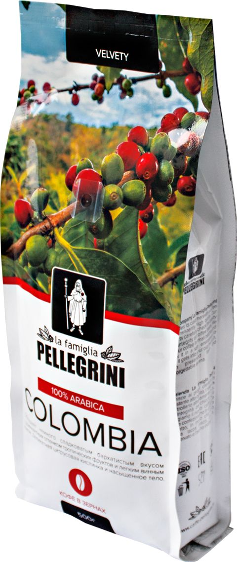 La Famiglia Pellegrini Colombia кофе в зернах, 500 г page turners 10 joe faust