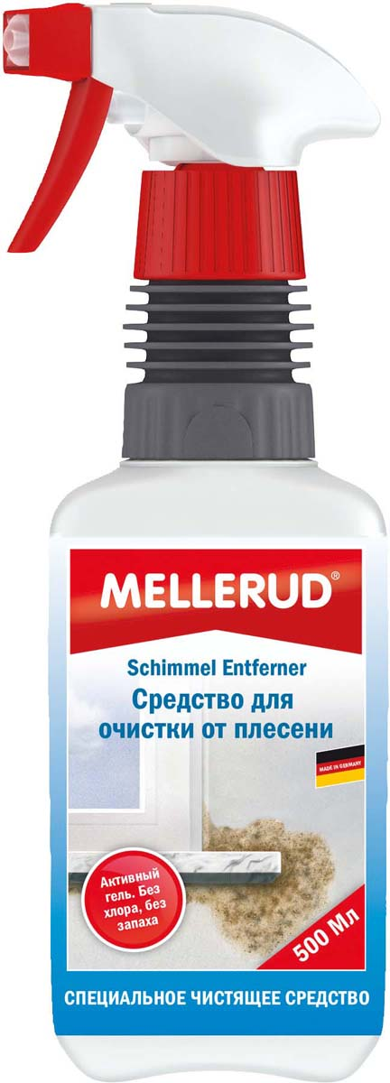 Средство для очистки от плесени Mellerud, 500 мл