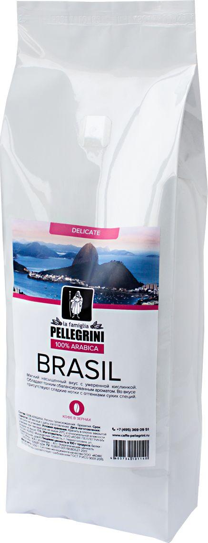 La Famiglia Pellegrini Brasil кофе в зернах, 1 кг жакет rosanna pellegrini жакеты на пуговицах